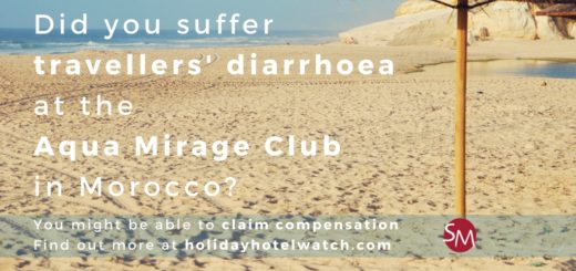 Did you suffer travellers' diarrhoea at the Aqua Mirage Club in Morocco?