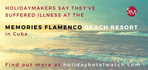 Holidaymakers say they've suffered illness at the Memories Flamenco Beach Resort