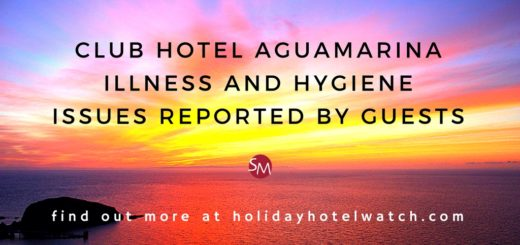 Club Hotel Aguamarina illness and hygiene issues reported by guests