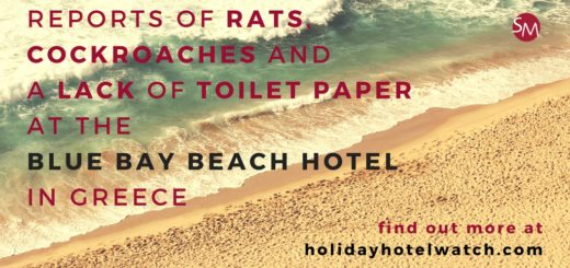 Reports of rats, cockroaches and a lack of toilet paper at the Blue Bay Beach Hotel