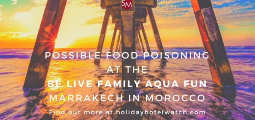 Possible food poisoning at the Be Live Family Aqua Fun Marrakech