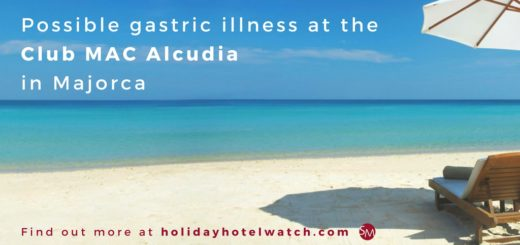 Possible gastric illness at the Club MAC Alcudia