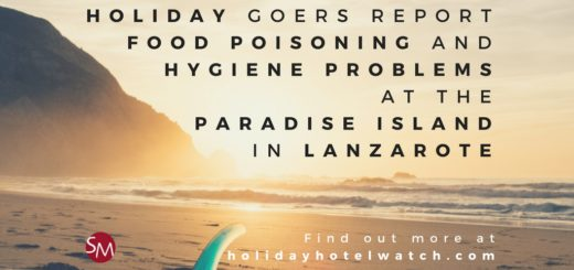 Holiday goers report food poisoning and hygiene problems at the Paradise Island in Lanzarote
