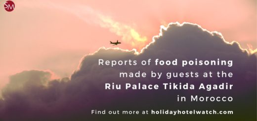 Reports of food poisoning made by guests at the Riu Palace Tikida Agadir in Morocco