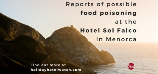 Reports of possible food poisoning at the Hotel Sol Falco