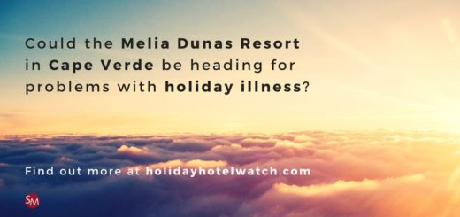 Could the Melia Dunas Resort be heading for problems with holiday illness?