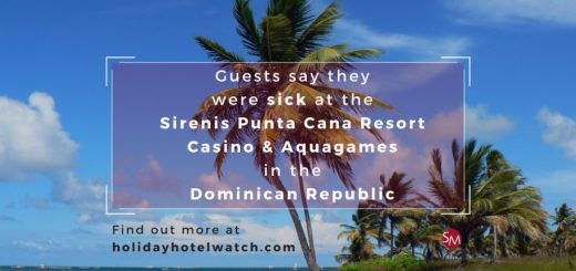 Guests say they were sick at the Sirenis Punta Cana Resort Casino & Aquagames