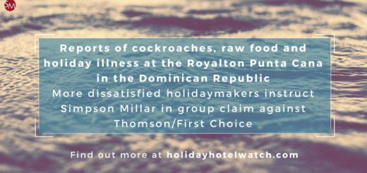 Reports of cockroaches, raw food and holiday illness at the Royalton Punta Cana