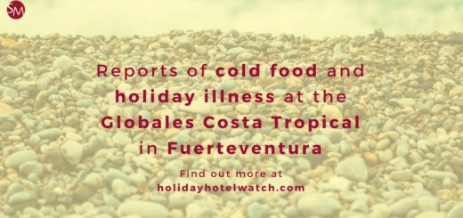 Reports of cold food and holiday illness at the Globales Costa Tropical