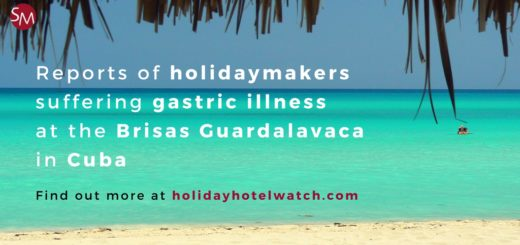 Reports of holidaymakers suffering gastric illness at the Brisas Guardalavaca