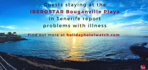 Guests staying at the IBEROSTAR Bouganville Playa report problems with illness