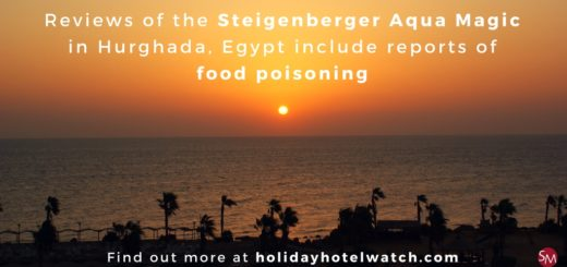 Reviews of the Steigenberger Aqua Magic include reports of food poisoning