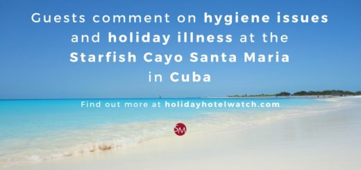Guests comment on hygiene issues and holiday illness at the Starfish Cayo Santa Maria