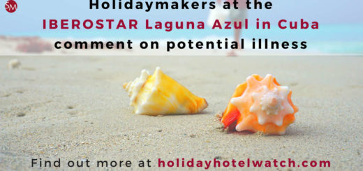 Holidaymakers at the IBEROSTAR Laguna Azul in Cuba comment on potential illness