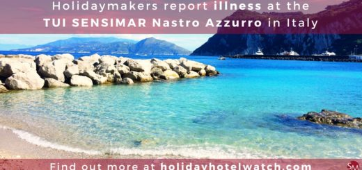 Holidaymakers report illness at the TUI SENSIMAR Nastro Azzurro in Italy