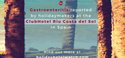 Gastroenteritis reported by holidaymakers at the ClubHotel Riu Costa del Sol in Spain