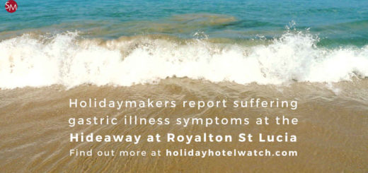Holidaymakers report suffering gastric illness symptoms at the Hideaway at Royalton St Lucia