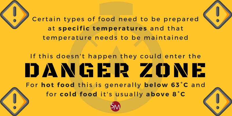 Sae food temperatures and the danger zone