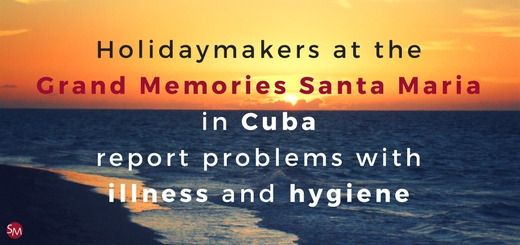 Holidaymakers at the Grand Memories Santa Maria report problems with illness and hygiene