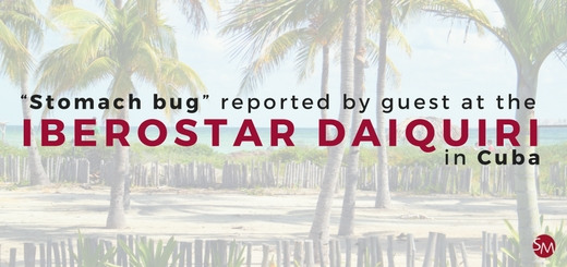 Stomach bug reported by guest at the IBEROSTAR Daiquiri in Cuba