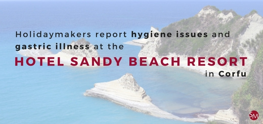 Holidaymakers report hygiene issues and gastric illness at the Hotel Sandy Beach Resort in Corfu