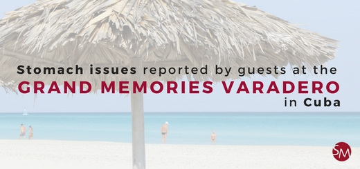 Stomach illness and hygiene concerns reported by guests at the Grand Memories Varadero in Cuba