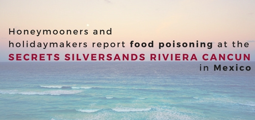 Honeymooners and holidaymakers report food poisoning at the Secrets Silversands Riviera Cancun in Mexico